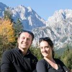 Claudio e Sara fondatori di Aterema