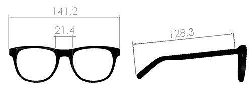 misure occhiale Essenziale