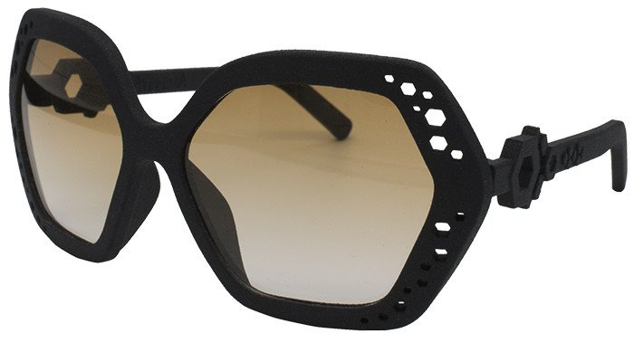 occhiali esagonali