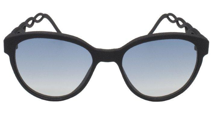 occhiali da sole a farfalla