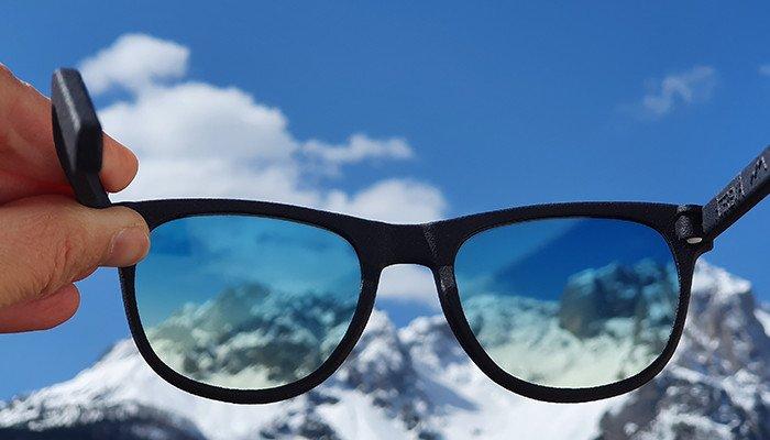 occhiali lenti sfumate