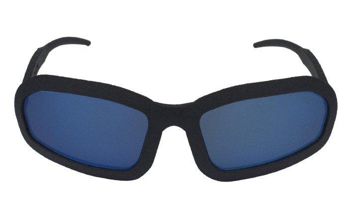 occhiali specchiati sportivi donna