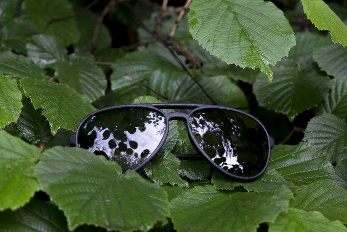 occhiali a goccia aviator da sole