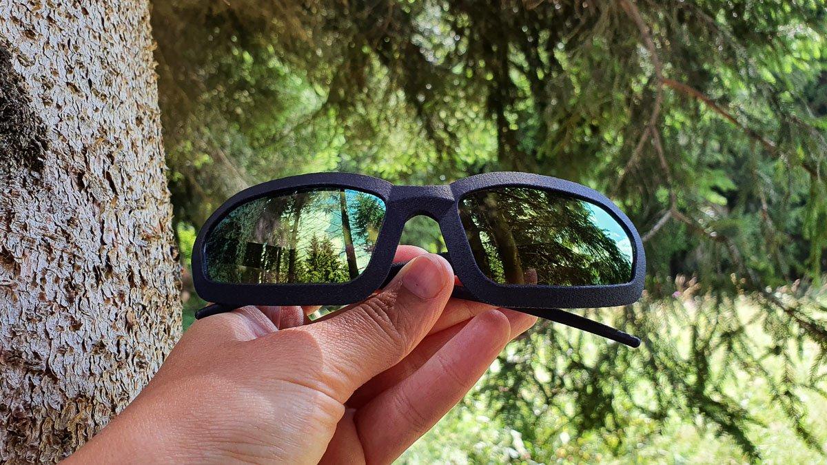 occhiali stampati in 3D