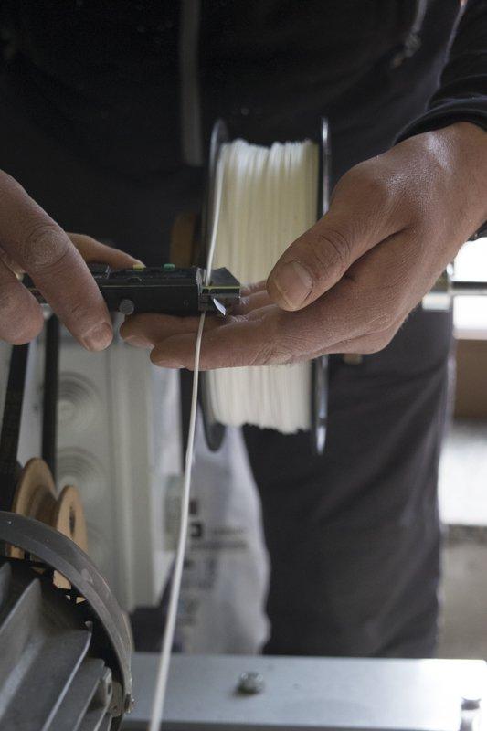 Azienda sostenibile - nuovo filamento per stampa 3D