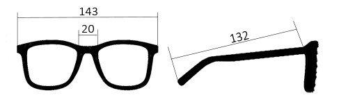 misure occhiali polarizzati